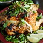 Asian Beer Can Chicken